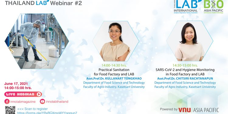 """""""Managing SAFETY in Food Factory and LAB during Covid-19 Era and Beyond"""" Webinar #2"""